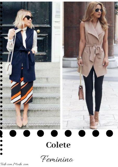 Colete Feminino – 85 Modelos Lindíssimos & Como Montar Seus Looks!