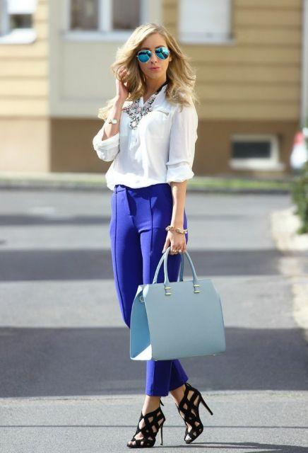 looks elegantes com camisa social