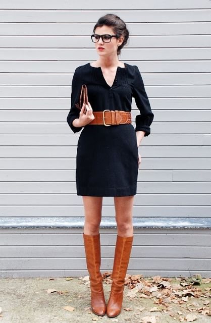 looks elegantes com vestido curto preto