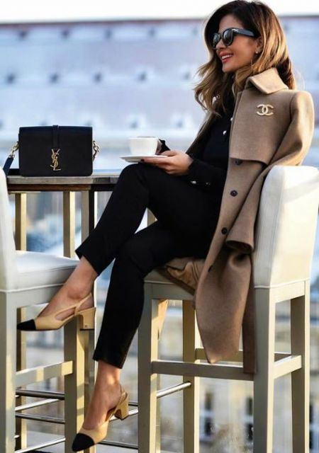 looks elegantes luxo para o frio