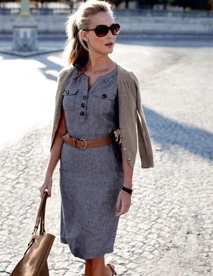 looks elegantes com vestido lápis
