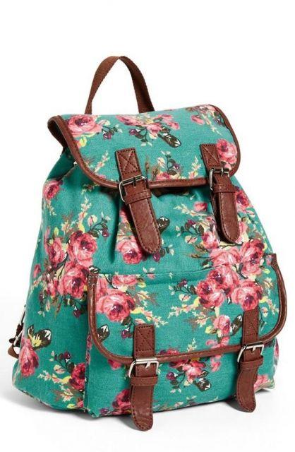 mochila colorida