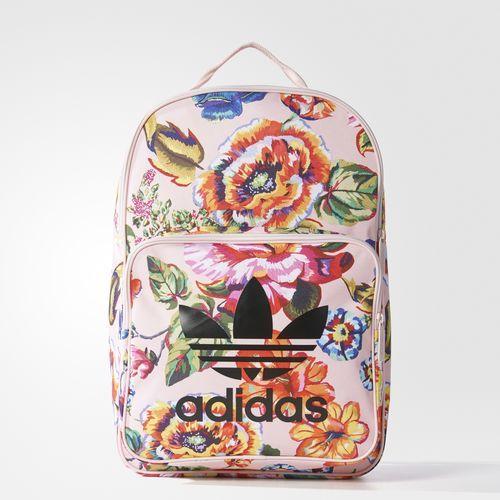 mochila de couro Adidas