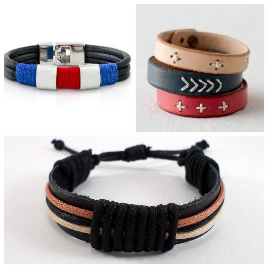 As pulseiras coloridas são diferenciadas e dão um up em seu look!