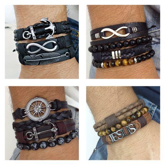 O mix de pulseiras é uma tendência irresistível!