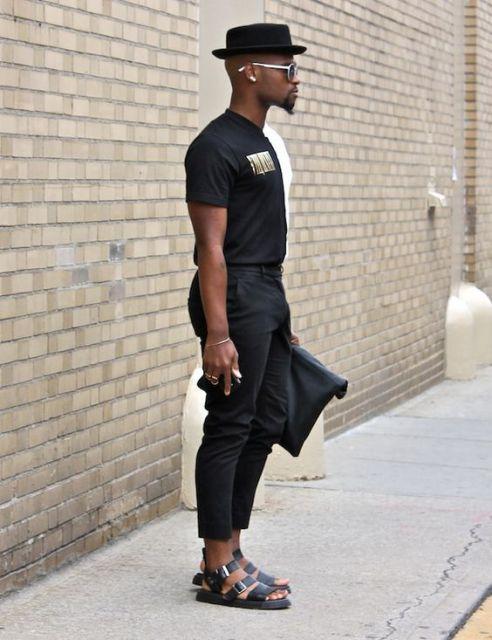 No look all black
