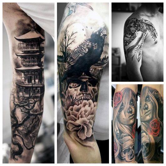 100 modelos irados de tatuagens masculinas no braço para rapazes de todas as idades e estilos!