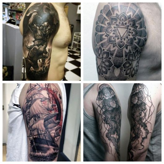 Opte por tatuagens masculinas no braço que tenham um forte significado para sua vida!
