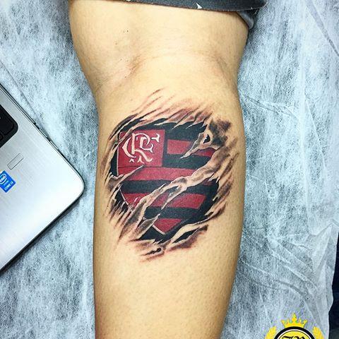 Tatuagem Do Flamengo 50 Ideias Para Apoiar Seu Time Preferido