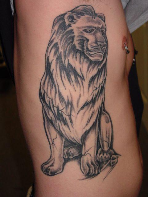 No maior estilo rei leão