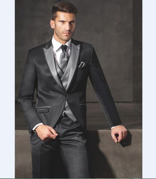 155f1ab9e5 Como Usar Terno Cinza – 80 Modelos Elegantes com Dicas para Usá-los!