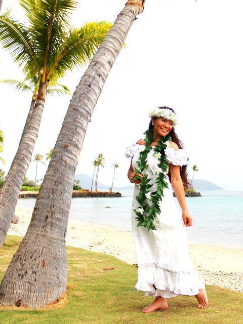 vestido havaiano tradicional