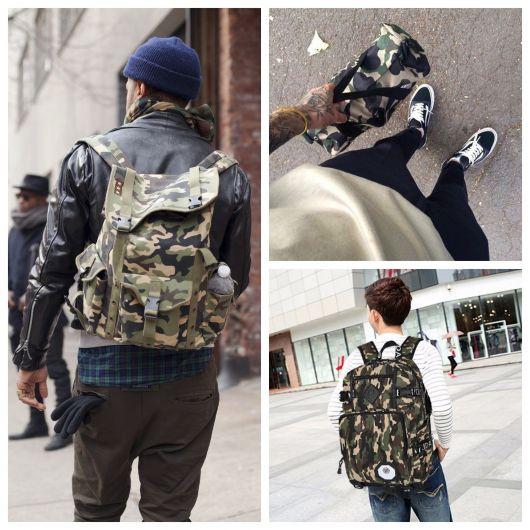 Tudo sobre a mochila camuflada masculina + dicas para escolher o modelo perfeito para você!