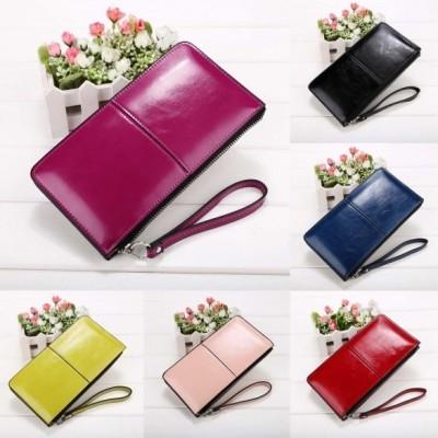 carteiras de couro nas cores, rosa, nudeverde-limão, vermelho, azul, preto.