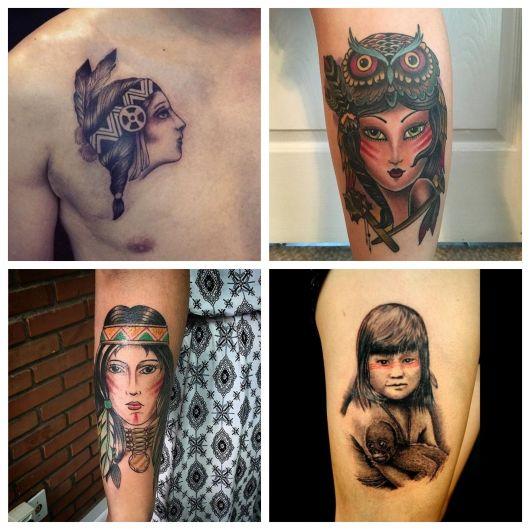 70 inspirações de tatuagem indígena para todos os gostos