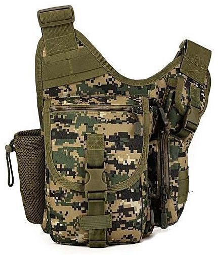 Que tal uma mochila camuflada masculina com um design diferente?