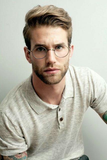 óculos de grau redondo masculino