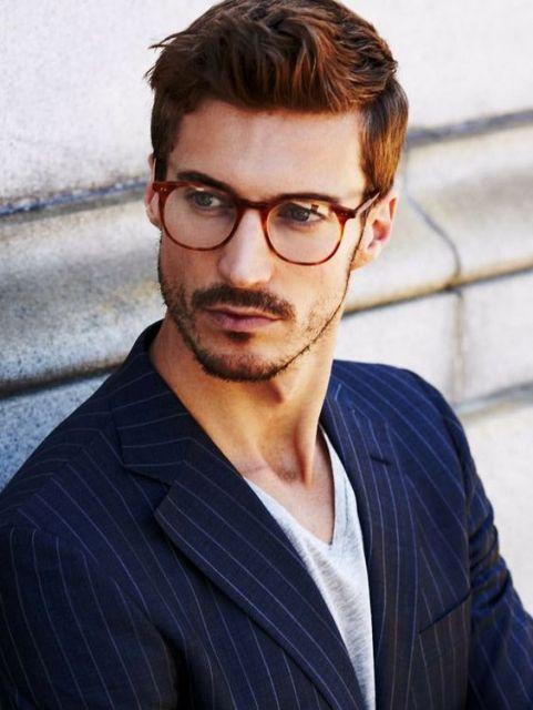 óculos retrô masculinos
