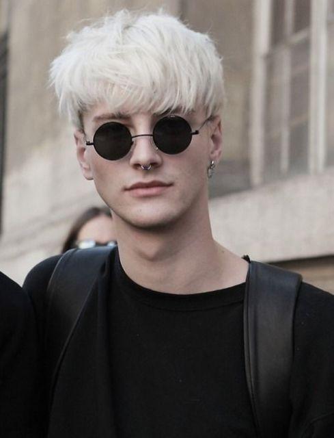 óculos de sol retrô masculino