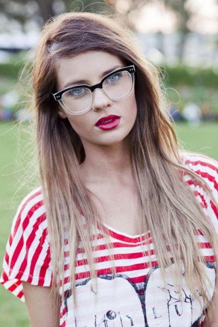 óculos grau retrô