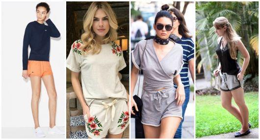 Shorts Moletom Feminino – 43 Looks, Marcas & Modelos Maravilhosos!