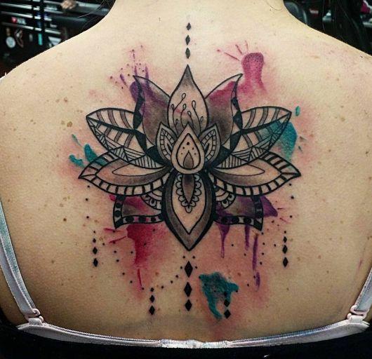Tatuagem Flor De Lótus Qual Seu Significado 58 Ideias
