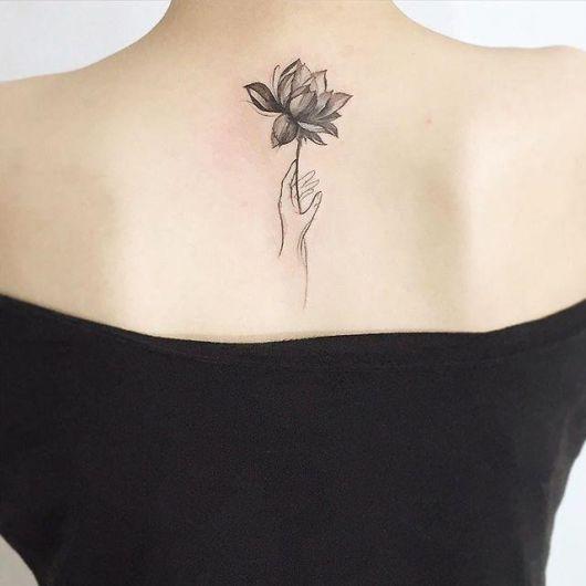 Tatuagem Flor De Lotus Qual Seu Significado 58 Ideias Apaixonantes