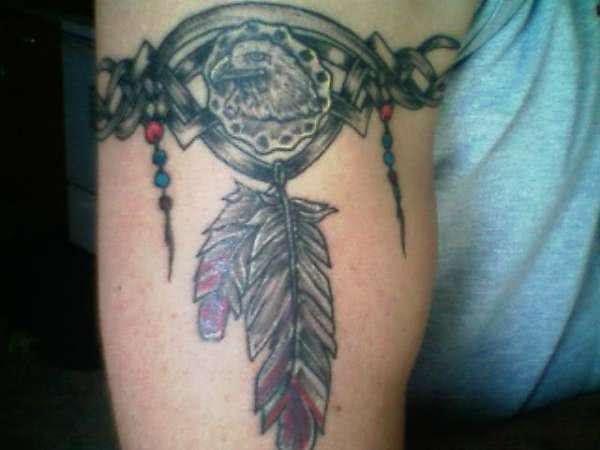 A águia representa o poder a liderança para muitas tribos americanas
