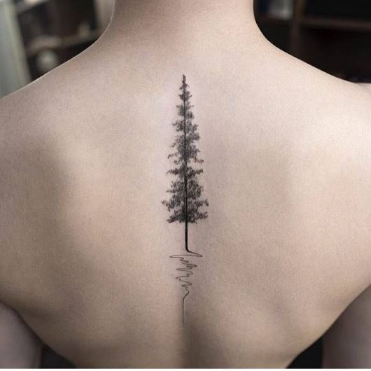 Árvore minimalista