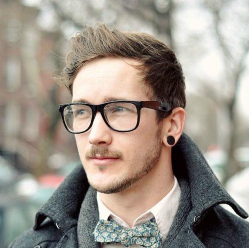 Um estilo geek que se adapta perfeitamente a esse acessório masculino