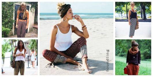 Calça Indiana Feminina – 37 Modelos Confortáveis e Estilosos para Usar!