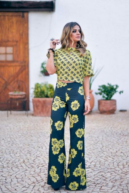look com mix de estampas