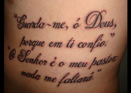 Frases Para Tatuagem Masculina 75 Ideias E Dicas Imperdíveis