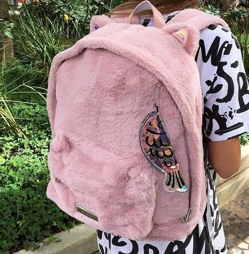 mochila rosa Imaginarium