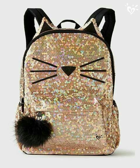 mochila dourada