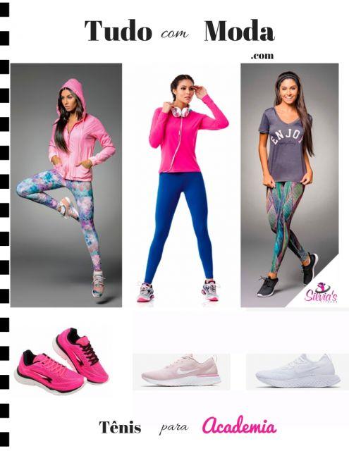 Tênis para Academia Feminino – 30 Modelos Perfeitos para Se Exercitar!