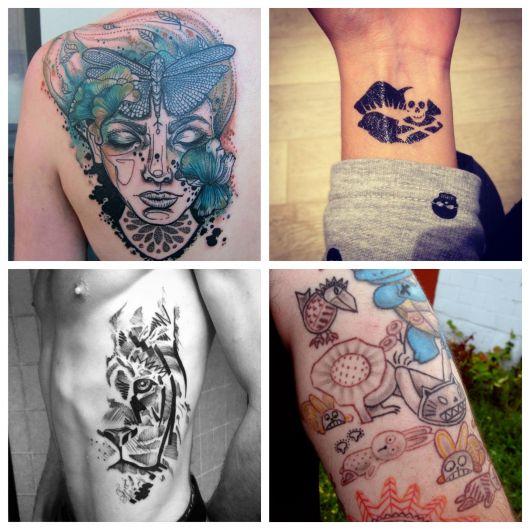 80 modelos de tatuagens diferentes que impressionam