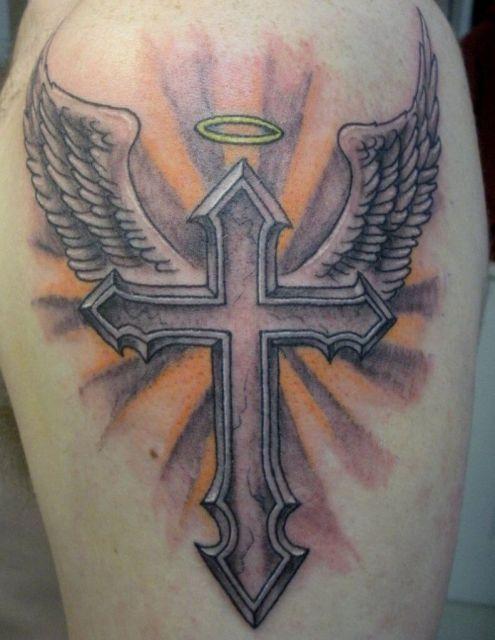 Lindo efeito e inspiração mística nessa tattoo