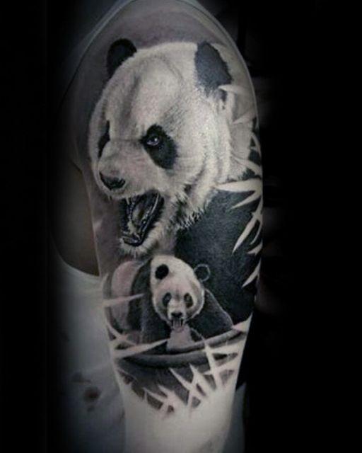 Tatuagem de Panda: 30 fotos, modelos e dicas para fazer a sua