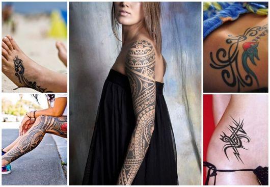 Tatuagem Tribal Feminina 49 Inspirações Lindíssimas E Seus