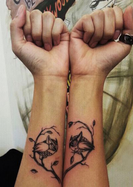 Tatuagens baseadas em animais sempre fazem sucesso