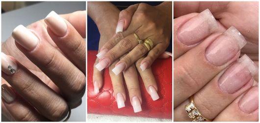 fotos de alongamento de unhas