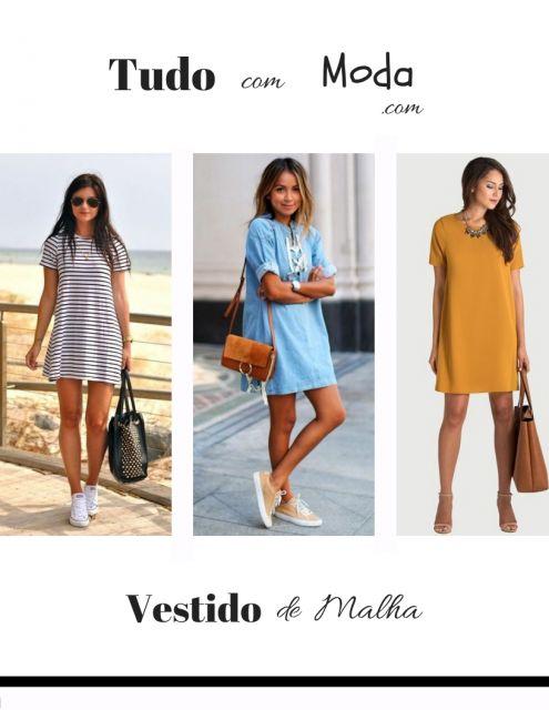 Vestido de Malha – 70 Modelos Perfeitos para o Verão & Dicas Inéditas!