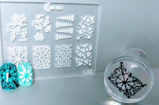 modelo de silicone transparente