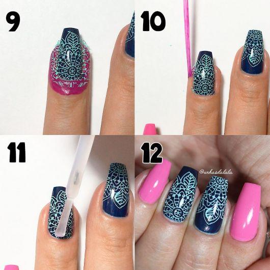 tutorial e como fazer nail art