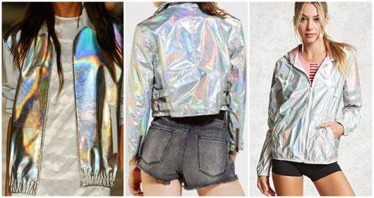 como usar jaqueta prata