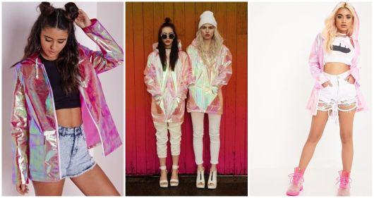 como usar jaqueta rosa