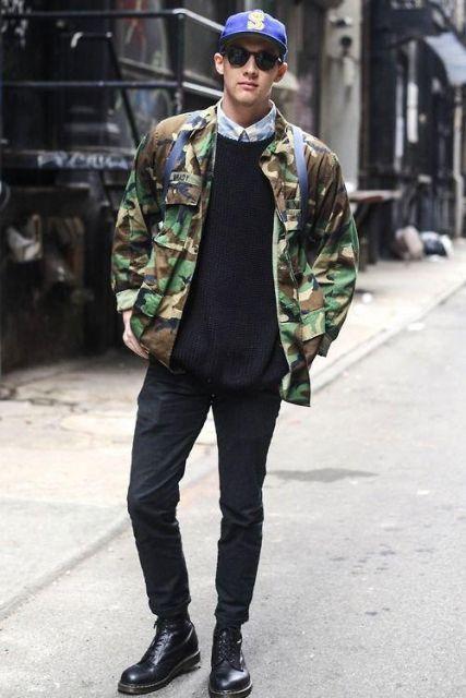 Simples e básica combinando com o look preto e ótima para usar no cotidiano