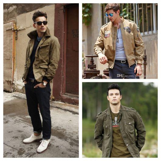 65 modelos impressionantes de jaqueta militar masculina + dicas para usar perfeitamente