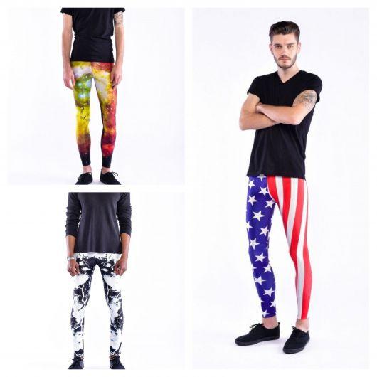 Você usaria essas leggings super coloridas?